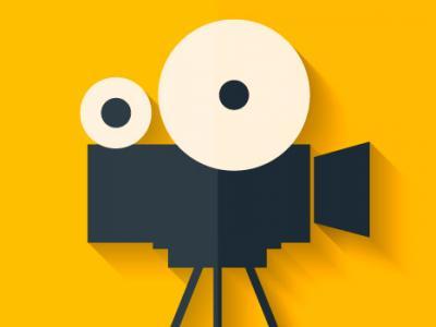 Imagem mostra símbolo de vídeo