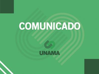 Imagem mostra arte do comunicado