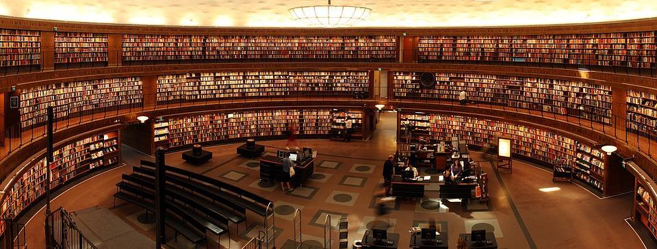 Conheça as 5 maiores bibliotecas do mundo/Pixabay