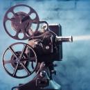 Imagem mostra projetor de cinema